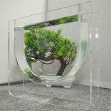 Aquário acrílico interno dos peixes do projeto novo para a decoração Home