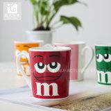 De glimlachende Goederen van de Koppen van de Koffie van het Overdrukplaatje/Bevordering