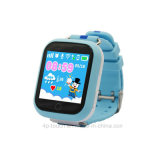 l'écran tactile 3G badine la montre de traqueur avec l'appareil-photo tournant (D19)