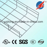 Hete Dipped Galvanised Straight Edge Wire Mesh Cable Tray met SGS en UL