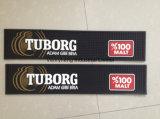Циновка пива бегунка штанги PVC Ay и циновки штанги изготовленный на заказ с печатание логоса