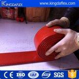 ゴム製シリコーンの上塗を施してある耐熱性火の袖