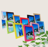 """Direto da fábrica venda por grosso de madeira maciça artesanais puro Photo Frame com tamanho 5"""", 6"""", 7"""", 8"""", A3, A4, ..."""