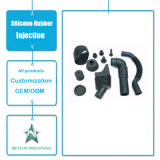 カスタマイズされたシリコーンゴムの製品の予備品のゴム製管の注入の鋳造物