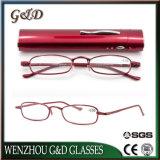 Metal de colores de moda gafas de lectura