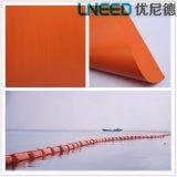 Asta professionale di caduta di olio delle aste del galleggiante dell'olio del PVC del fornitore di Haining