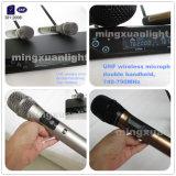 Microfone de conferência sem fio PRO Audio UHF e Pll (DC-Two)