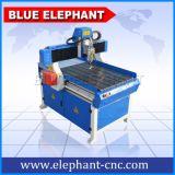 Minitisch-Oberseite CNC-Fräser 6090 erstellte kleiner CNC-Fräser mit Wasser-Becken für Aluminium ein Profil
