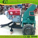Houten Chipper van de schijf met Dieselmotor