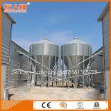 Automatischer Geflügelzucht-Geräten-Zufuhr-Silo durch galvanisierten Stahl