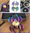 Giradores coloridos novos do metal dos giradores da inquietação da forma da aranha