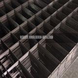Черная панель сваренной сетки провода
