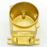 Bastidor de cobre amarillo perdido OEM de la precisión del bastidor de la cera