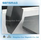 Magnete di ceramica permanente del ferrito per il separatore magnetico, motore, freno