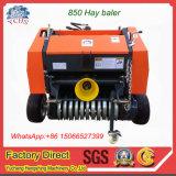 Máquina de enfardamento de agricultura o trator Mini-Round Enfardadeira de fardos de feno
