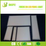 el parpadeo plano de la luz del panel de 120lm/W 300X300/620X620/300X1200/600X600 LED libera