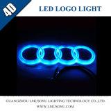 4D LED Aufschriftbeleuchtung für Audi LED Selbstfirmenzeichen-Laserlicht der firmenzeichen-Auto-Tür-LED