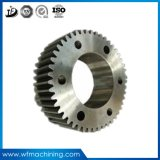 OEMの炭素鋼またはアルミニウムピニオンのトラックのための螺旋形の円柱拍車ギヤ