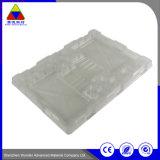 Weiße Wegwerfplastiktellersegment-Blasen-Verpackung für elektronisches Produkt