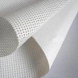 Tecido de malha quadrada de poliéster para impressão de solventes