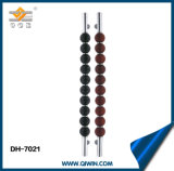 Speciaal Roestvrij staal 304 het Handvat van de Deur van het Glas (dh-7021)