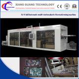 Fabricante de suministro automático lleno de plástico termoformado al vacío de la máquina
