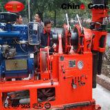 Montado en el remolque hidráulico portátil Mini Equipo de Perforación pozo de agua