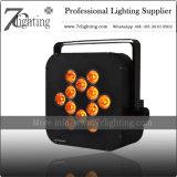 WiFi drahtloses Beleuchtung 12PCS RGBWA batteriebetriebenes LED NENNWERT UVlicht für Hochzeit