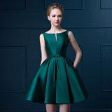 AラインのGrilの服の袖なしのイブニング・ドレスの袖なしの夕方のプロムの服が付いているパーティー向きのドレス