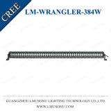 Luz recta 384W de la barra de la pulgada LED del CREE 50 de los accesorios IP67 del Wrangler 4X4 para el jeep