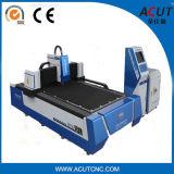 Metal e máquina de estaca não metálica do laser da fibra de Acut