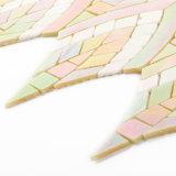 Hohe Fertigkeit-Buntglas-Mosaik-Fliesen für Küche-Wand-Dekoration