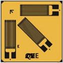 PCB 스트레스 측정을%s 3개의 방향 변형계