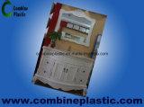 Placa/folha de madeira agradáveis da espuma do PVC do revestimento para a mobília da casa