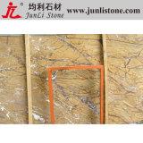 Marbre Polished naturel de tuile de Brown de forêt tropicale de conception de plancher