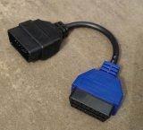 Balayage bleu bleu de FIAT ECU de câble du câble A5 de l'adaptateur 5 d'adaptateur de Multiecuscan Fiatecuscan