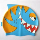 Chapéu da natação dos desenhos animados da forma dos peixes