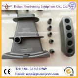 Attaches plates métallisées de la brame S5 pour la brame de tension de poste