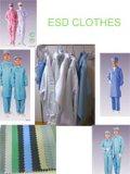 청정실 사용을%s ESD 일 가운 또는 작업복 의류