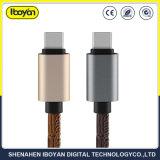 1m de tipo C Teléfono móvil USB Data Cable de carga