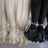 Vierge de haute qualité Indian Remy Cold Fusion Extension de cheveux à embout plat