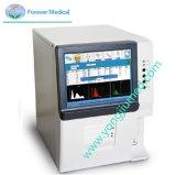 Analisador da hematologia do LCD 3-Part da cor para clínico