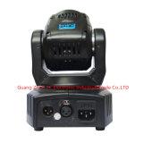 4pcs 10W RGBW 4en1 LED Mini Déplacement de la lumière de la tête