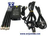 Réglable de 8 bandes 3G 4G Wimax WiFi GPS brouilleur Téléphone UHF VHF (version européenne)