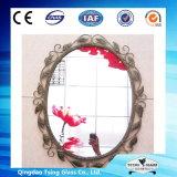espejo de plata de 2-8m m/espejo de plata de revestimiento doble/espejo de plata