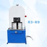 Machine de découpage électrique de papier de coin rond avec sept couteaux (dispositif de couverture)