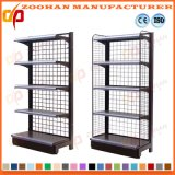Supermercado Wall Wire Shelves Storage Store Display Fixtures Shelving (Zhs390)