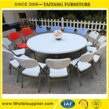 새로운 디자인 이용되는 둥근 옥외 테이블 의자 플라스틱