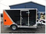 Kiosk van de Kar van het Voedsel van de Hotdog van de Toepassing van het voedsel de Commerciële met de Maker van Roti van de Automaat