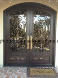 현대 단철 장식적인 외부 문 문